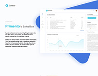 Primento - Dashboard design