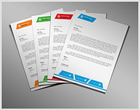 Corporate/Commercial Letterhead Template