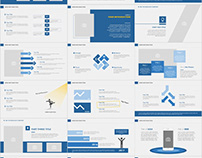31+ Blue Company annual report PowerPoint templates