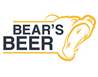 BEAR'S BEER - Proyecto Marca Visual para mis estudios.
