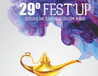 Cartaz para competir no Festup 2016