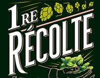 Bière 750 mL Première Récolte - BRJ