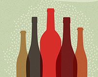 Poster for youth wine tastings