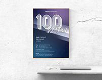 100 Festen Poster