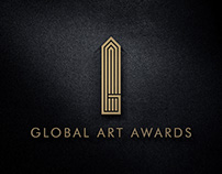 Logo Design for Global Art Awards