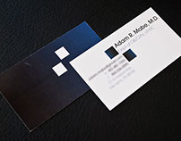 Adam Mabe M.D. business cards