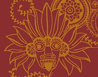 Upali's Colombo | Illustration & Menu Design