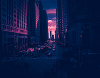 Chicago Cityscapes #Spiderverse #Contest