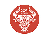 Year of The OX 2021 Collateral Campaign