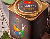 Raj Tea Package Design
