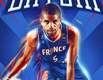 """France Eurobasket 2015 """"Puppet"""""""