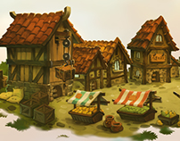 Town Background-Boh