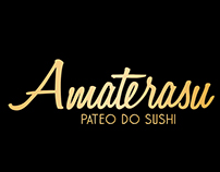 Logo Amaterasu Pateo do Sushi