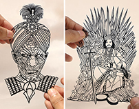 Indian Game Of Thrones - Papercuts