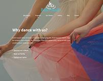 Nika Ballet Studio Website