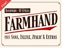 Farmhand Font Family
