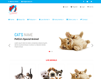 Ecommerce site Design: Petcobd