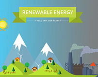 Renewable Energy Banner/Infographic (2015)