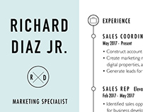 Richard's Resume Makeover