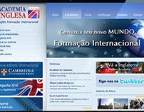 Website - Academia Inglesa