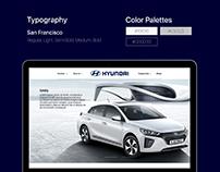 'Hyundai' Website Redesign Concept