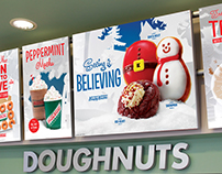 Various Krispy Kreme In-Store Promotions
