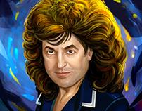 Ivo Bobul's portrait.