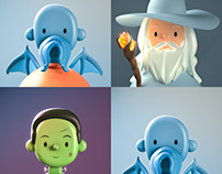 Fantasy Toy Face NFTs | Featured Bitski Drop