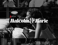 Malcolm & Marie Poster Design