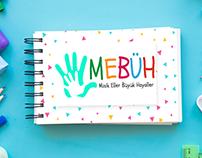 MEBÜH(Minik Eller Büyük Hayaller) Logo Tasarımı