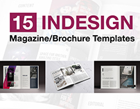 15 Indesign Magazine & Brochure Templates