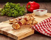 Fotografia de Alimentos :: Pinchos de Pollo