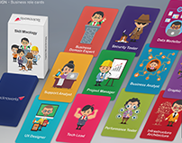 Role cards design - for an IT Company