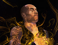 NBA Stars Spiritual Design Portraits