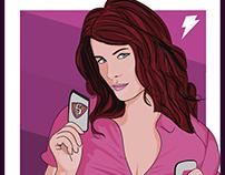 alison mcinnis poster pink ranger