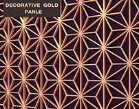 Free Download | Decorative Gold Panels