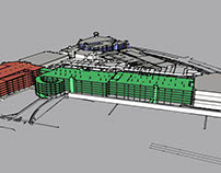 Towson Town Center 3D Modeling