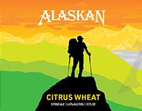 Alaskan Brewing Citrus Wheat