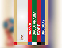 Posters - 2018 FIFA World Cup Russia (Group A)