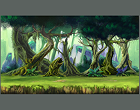 2D Game Assets Background