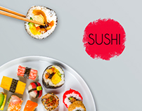 Sushi - Japanese Restaurant Advertising Kit