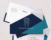 Logo + Business Card for an Endodontic Specialist