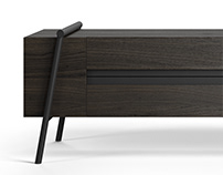 TV table from the DUOO collection for Zegen