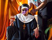 Bad Nun. Fashion Video Shoot