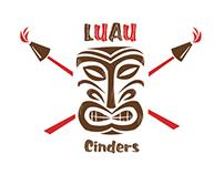 Luau Cinders Logo