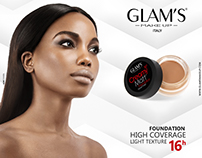 Advertising for Glam's Makeup