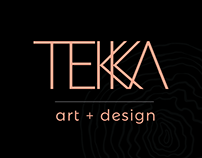 TEKKA ART+DESIGN - Identité visuelle