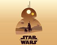Minimalist Poster Design. Star Wars, 13 Reasons Why.