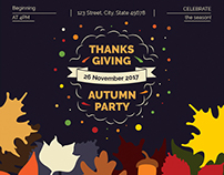 Thanksgiving Party | Modern and Creative Templates