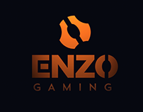 ENZO GAMING logo design